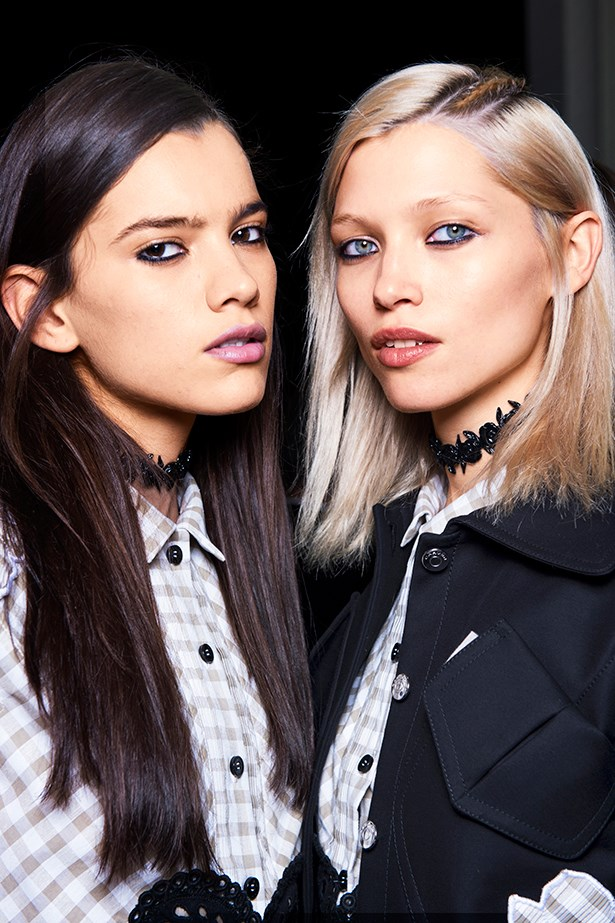 <p><strong>2. Revisit the choker</strong></p> <p>It was the mid-'90s when chokers came into their own, alongside Dr Martens and flannelette. Now, all three are making a comeback, but it's a thin ribbon at the throat that conjures a Courtney Love-like attitude. </p> <p>Carven SS14</p>
