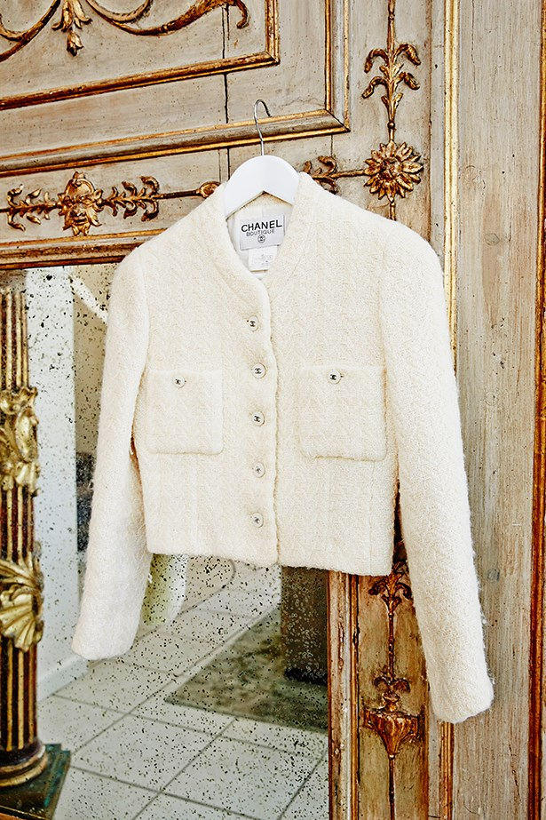 <p>Meares' vintage Chanel jacket takes pride of place in her wardrobe.</p>