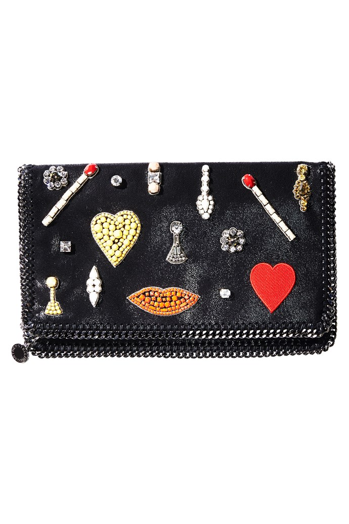 """Sign up to ELLE's Inner Circle <a href=""""http://www.elle.com.au/inner-circle"""">here</a> for a chance to win this Stella McCartney clutch."""