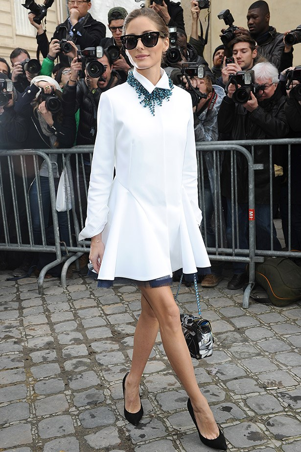 <strong>Olivia Palermo </strong> <br><br> Imagine how easy  getting dressed for work would be if Olivia Palermo had your back. Hence why a closet filled with her signature blend of uptown business-meets-cocktail style would make us very happy.