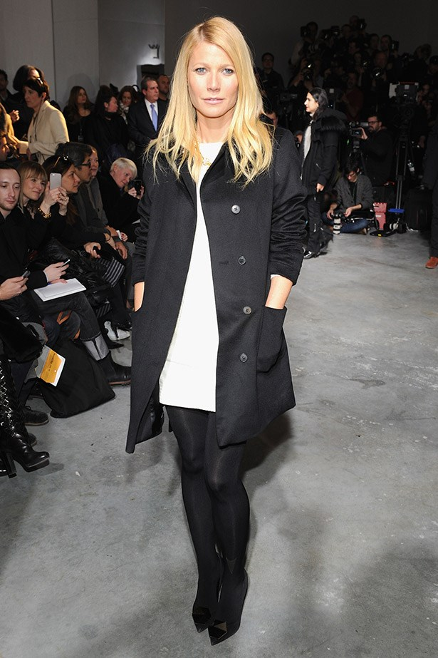 <strong>Gwyneth Paltrow</strong> <br><br> We have complete faith that if Gwyneth Paltrow launched her own collection of chic, brunch-approved denim, basics, and outerwear, it would be weekend wardrobe perfection.