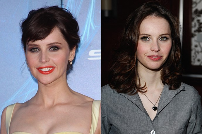 Indie-film darling, Felicity Jones channelled Parisian-style hair the New York Premiere of <em>The Amazing Spider-Man 2</em> a few days ago.