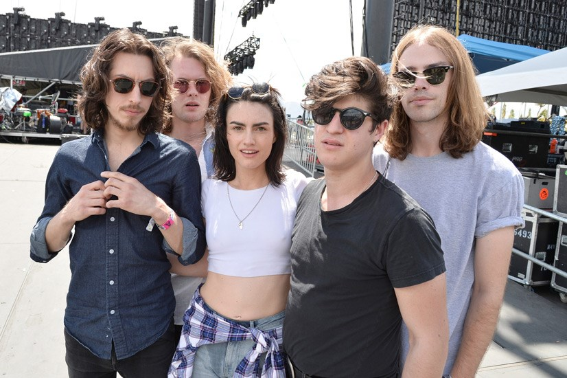 "<strong>The Preatures</strong> <br><br> From their debut 2012 EP <em>Shaking Hands</em> and lead single ""Take A Card"" – one of the most played local tracks on Australian radio that year – to the Indio desert: Sydney rock and roll outfit The Preatures played in the blazing midday sun to the crowd thronging the Coachella Stage on day one."