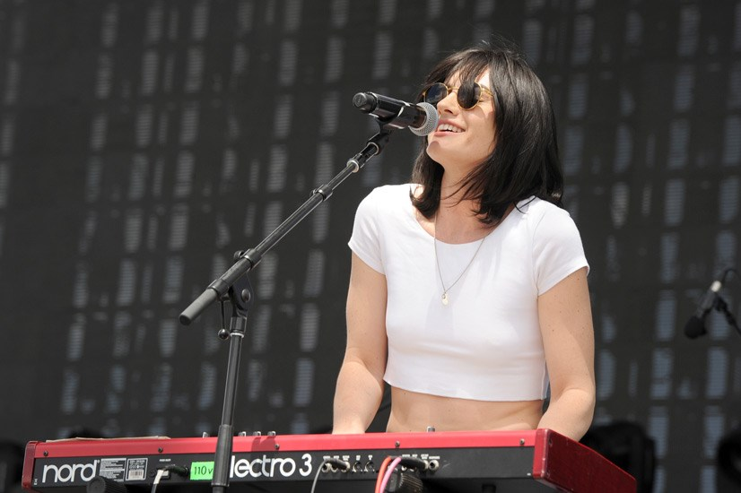 "<strong>The Preatures</strong> <br><br> As singer Isabella Manfredi, garbed in faded jeans and a plaid shirt, told the crowd, they ""flew a long way for this!"" Eighties-sounding tracks like ""Is This How You Feel?"" and ""Feels Better Than It Ever Could Be"" were all recorded, produced and mixed by at their DIY studio Doldrums in Surry Hills."