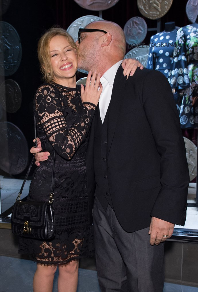Dolce and Kylie Minogue
