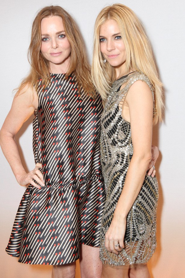 Stella McCartney and Sienna Miller