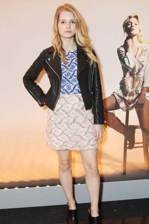 One to watch: Kate Moss' model half-sister, Lottie Moss.