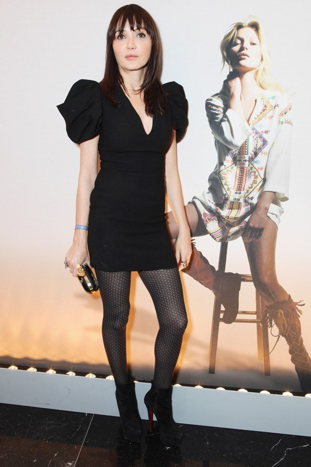 Model and muse to the late Alexander McQueen Annabelle Neilson.