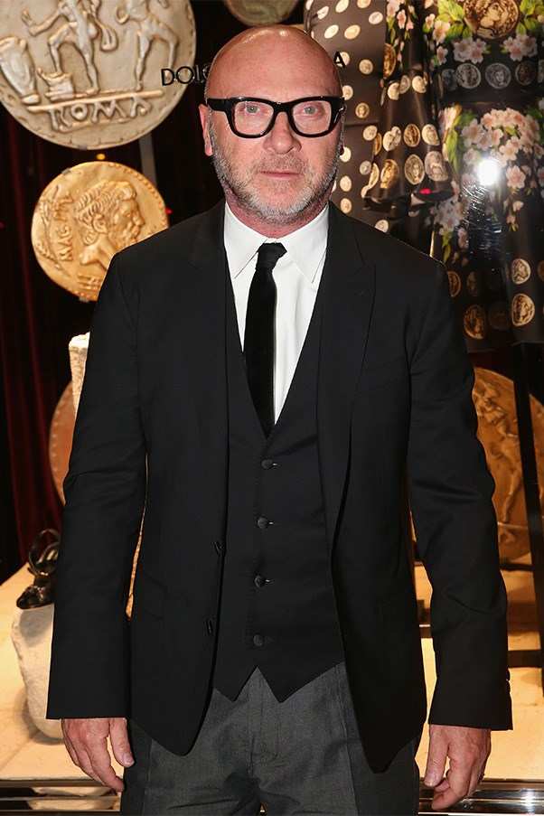 Domenico Dolce in Melbourne on Wednesday