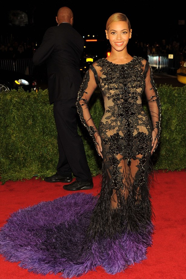 Beyonce in Givenchy, 2012. Theme: Schiaparelli And Prada: Impossible Conversations