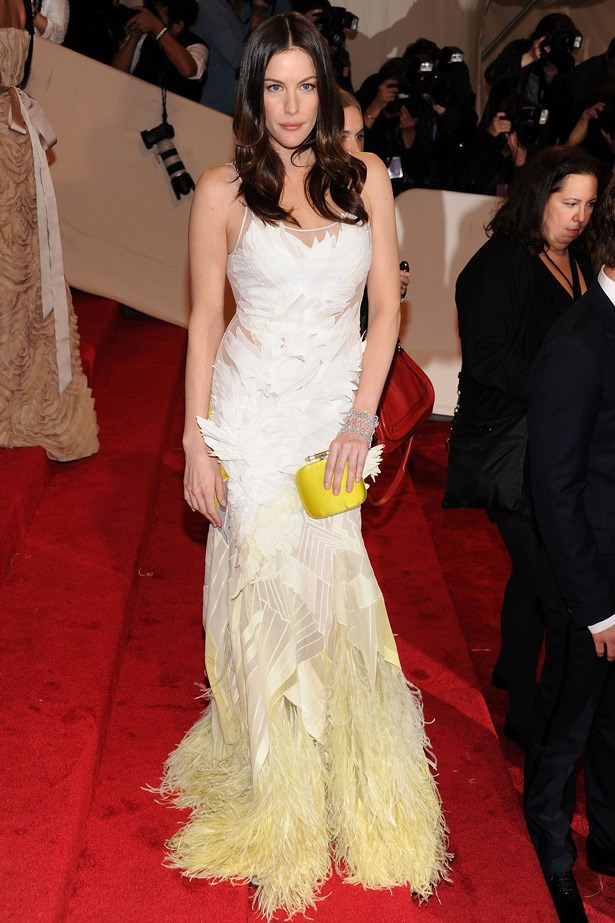 Liv Tyler in Givenchy, 2011. Theme: Alexander McQueen: Savage Beauty.