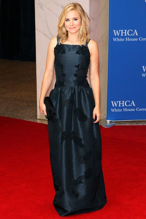 Kristen Bell in Dolce & Gabbana.
