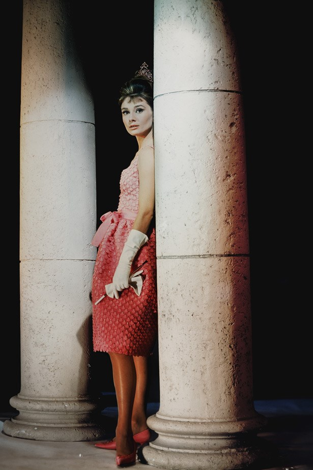 Audrey Hepburn as Holly Golightly in a scene from Breakfast at Tiffany's, 1960.