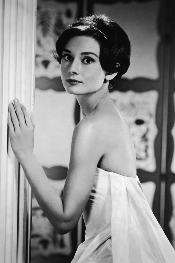 Audrey Hepburn in the early '50s.
