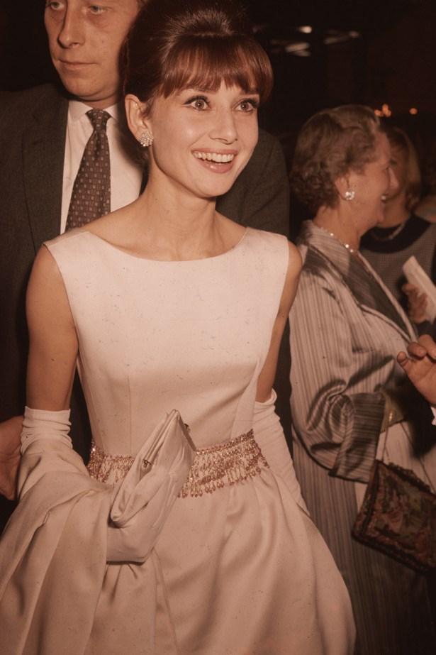 Audrey Hepburn in her signature style, 1961.