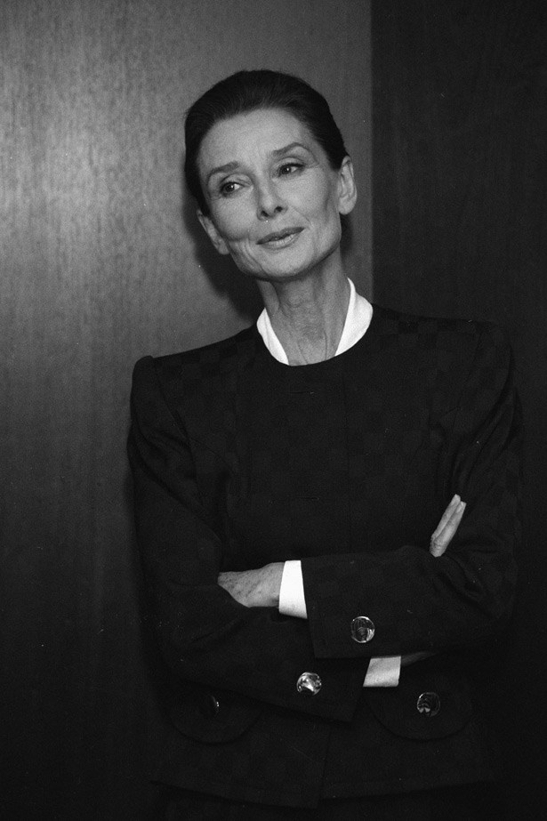 Audrey Hepburn in 1990