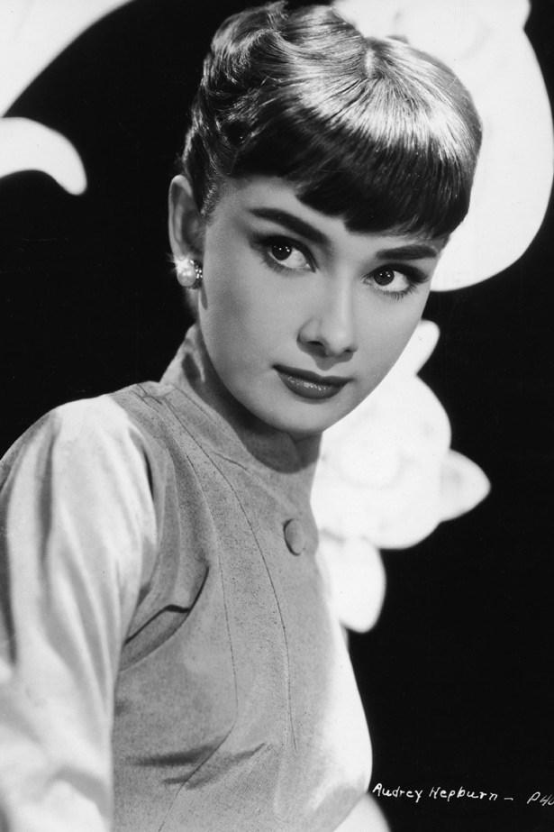 Audrey Hepburn in the early 50s.