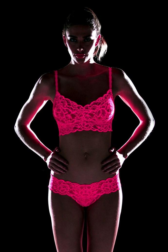 Cosabella's glow in the dark underwear