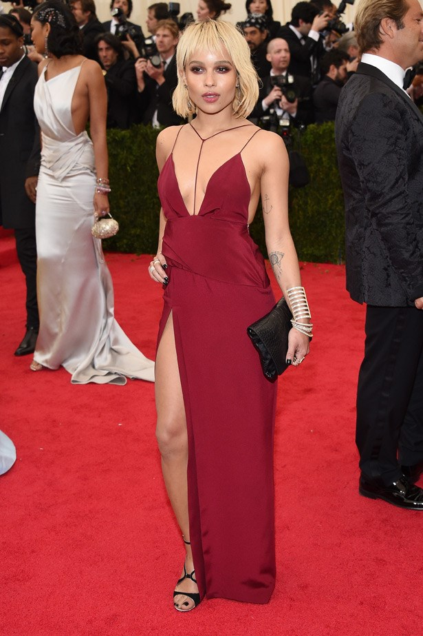 There were a few stars wearing Topshop to the Gala this year, including Zoe Kravitz, who looked cool and confident.