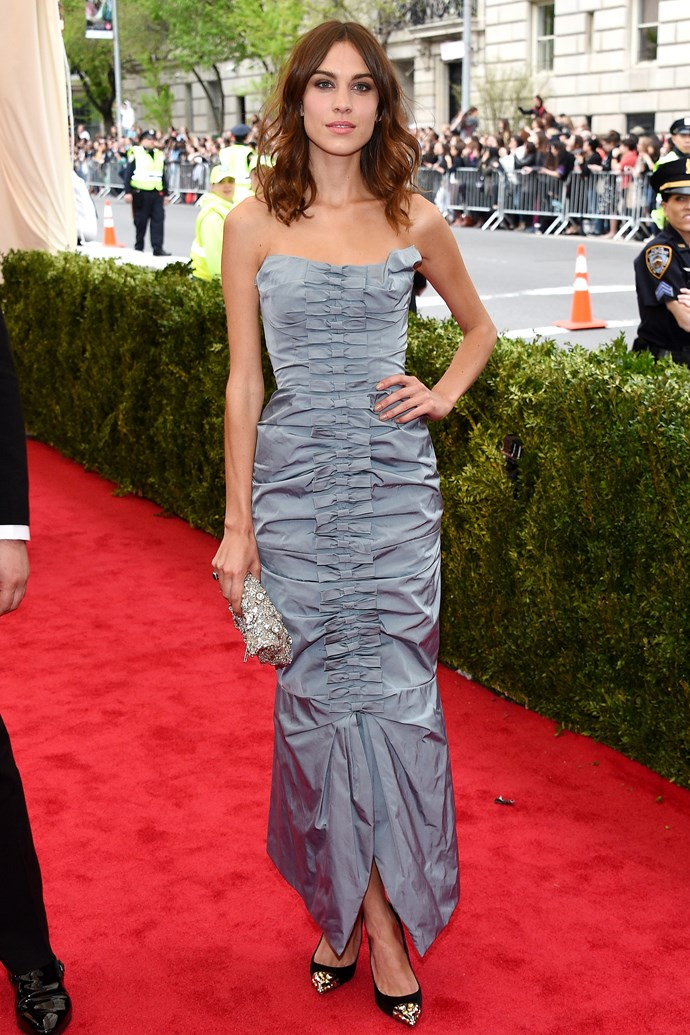 <strong><em>The Keira Knightley Award For Economical Use Of Wedding Attire</em>: Alexa Chung</strong><br><br> After a few months, Alexa can recycle this Nina Ricci gown for a friend's wedding and be the chicest guest there. (Side note: you just know she spent the least time in hair and make-up of any guest, still managing to achieve perfection.)
