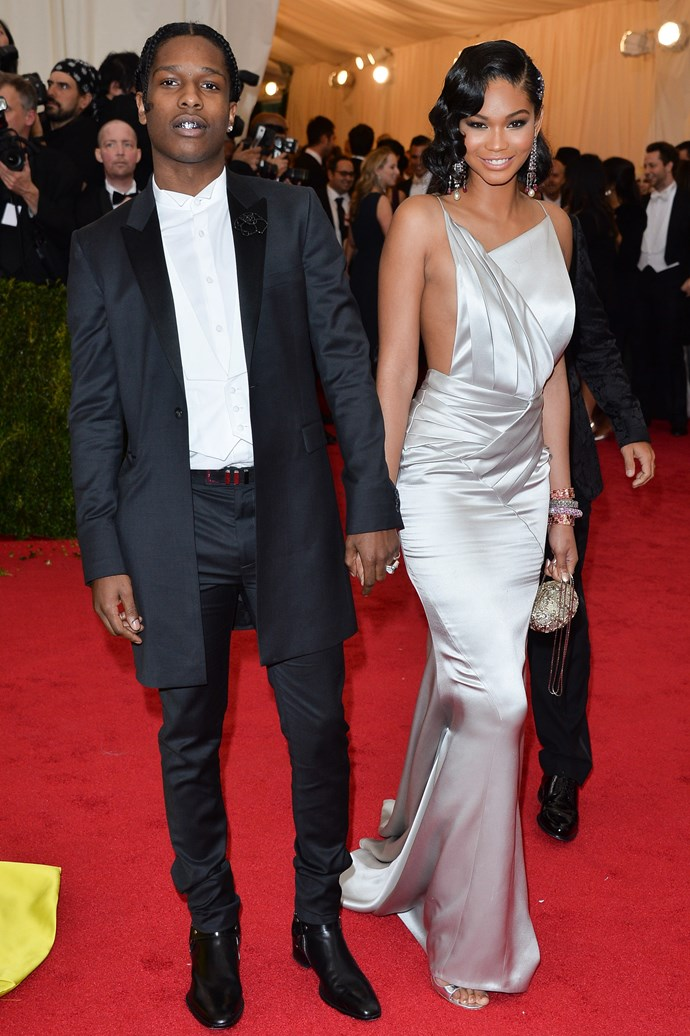 <strong><em>Best Coordination To A$AP Rocky's Grill</em>: Chanel Iman</strong><br><br> Cute.
