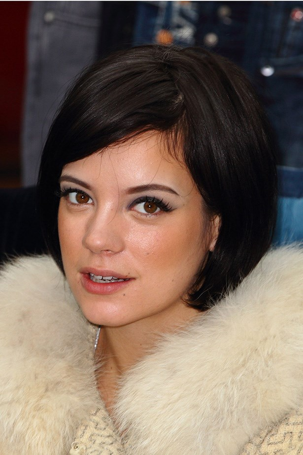 A short chic bob and cat liner gave the songstress a gamine look at an event in 2010.