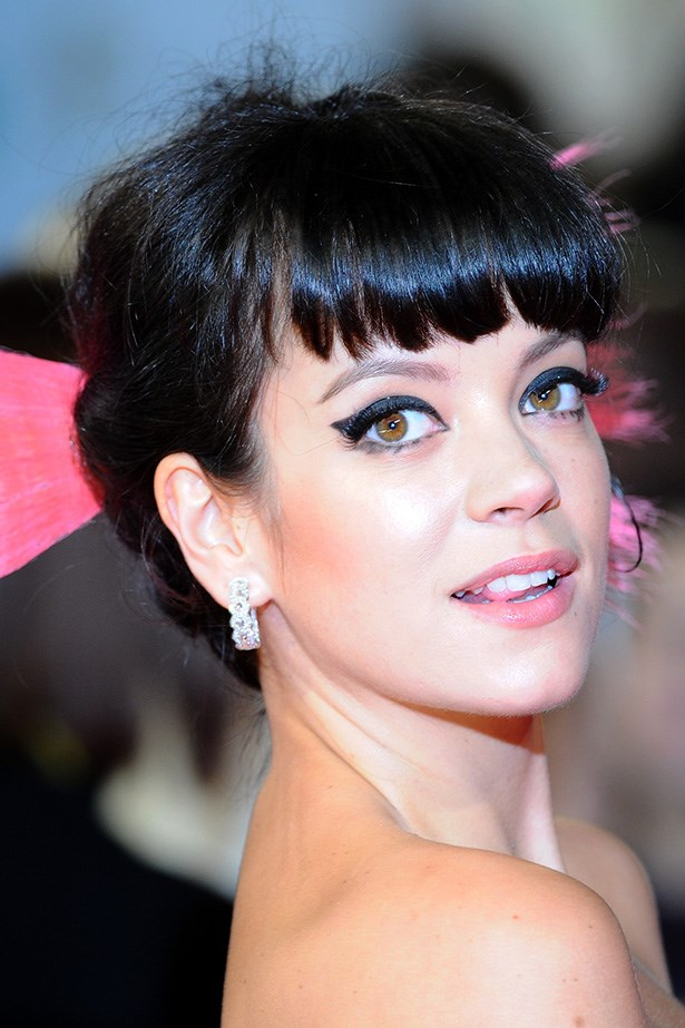 Brightly dyed pink hair was a standout on the singer at the EE British Academy Film Awards in February 2014.
