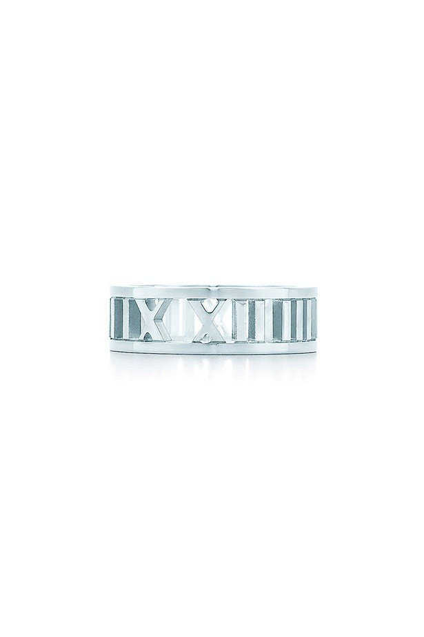 """This piece is beautiful and timeless, just like my Mum."" - Vanessa Lawrence, Features Writer <br><br> Tiffany & Co Atlas open ring in sterling silver,$315, www.tiffany.com.au"