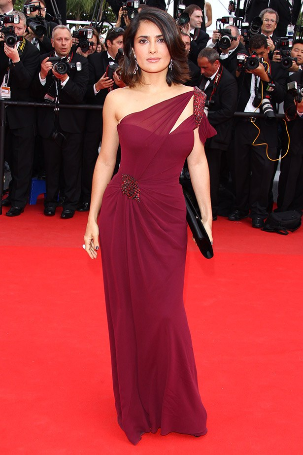 Salma Hayek wearing Gucci Premiere in 2010