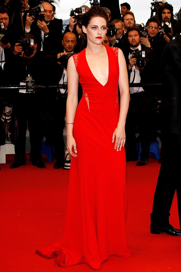 Kristen Stewart is smokin' in this gown by Reem Acra in 2012