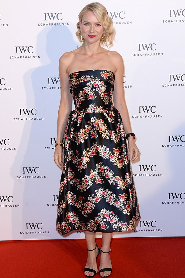 A sweet Naomi Watts looking very cool in Dolce & Gabbana in 2013