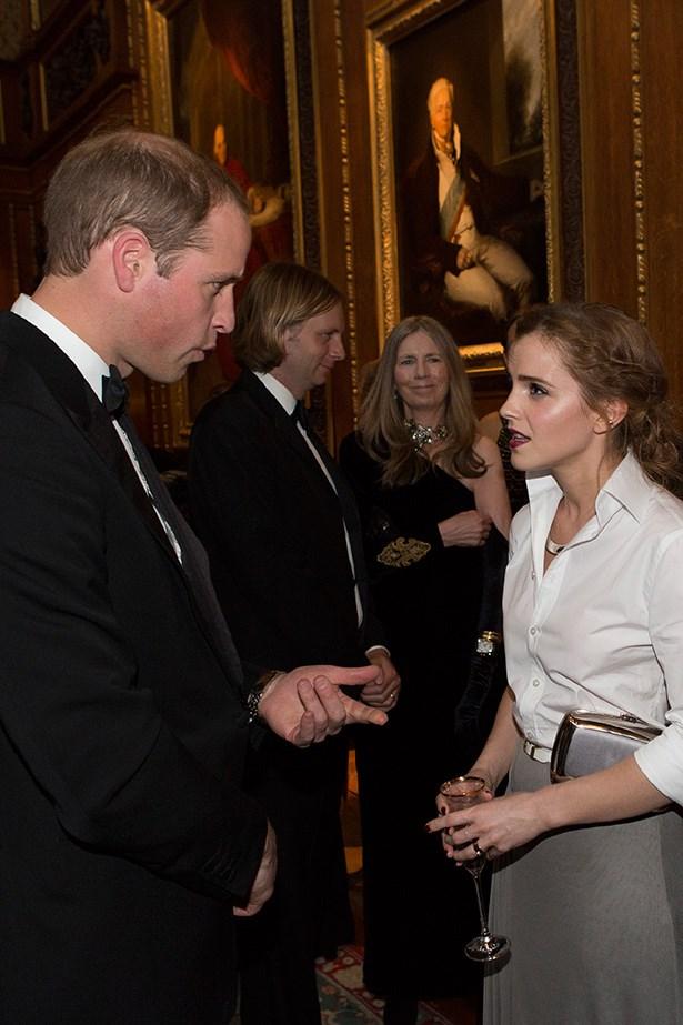 Emma Watson and Prince William, Duke of Cambridge