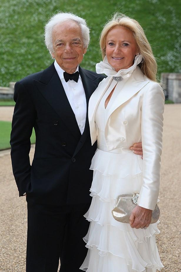 Mr Ralph Lauren and Mrs Ricky Lauren