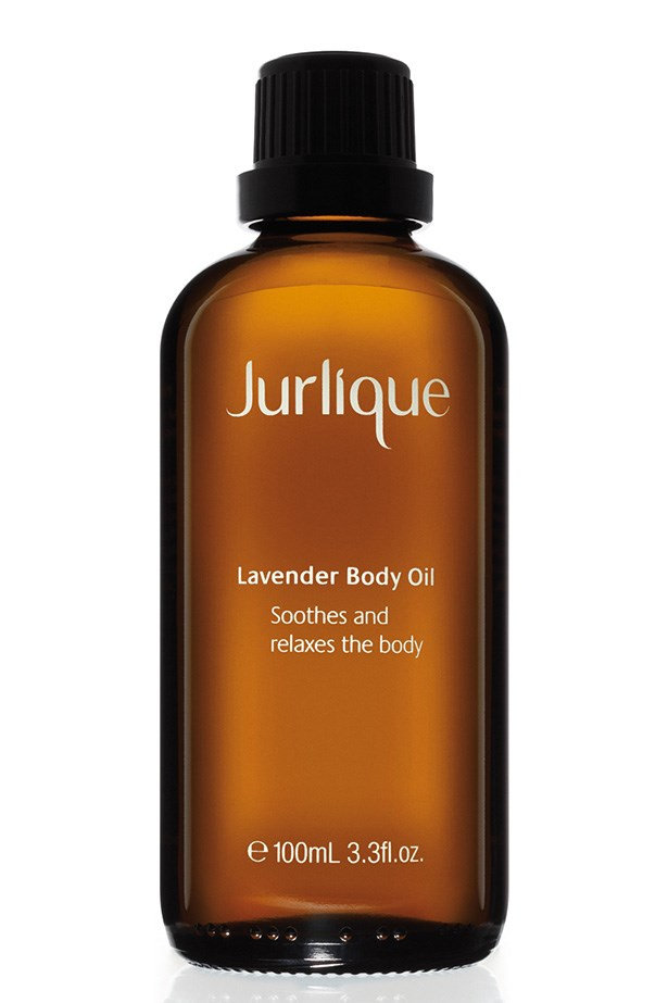 """<p><strong>Best for relaxation</strong><p/> <p><em>Lavender Body Oil, $32, Jurlique, <a href=""""jurlique.com.au"""">jurlique.com.au</a></em><p/> <p>Lavender is shown to decrease stress levels and has antioxidant properties making this body oil great for use before bed.<p/>"""