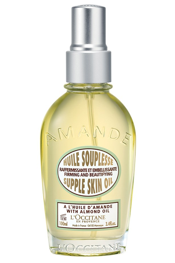 """<p><strong>Best for travel</strong><p/> <p><em>Almond Supple Skin Oil, $64, L'Occitane, <a href=""""au.loccitane.com"""">au.loccitane.com</a></em><p/> <p>A spray pump makes this oil great for travelling, while almond oil and cameline oil help repair your skins hydrolipidic barrier.<p/>"""
