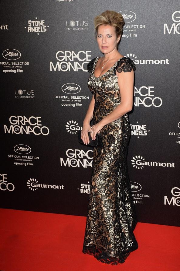 Natacha Amal at the 67th Annual Cannes Film Festival.