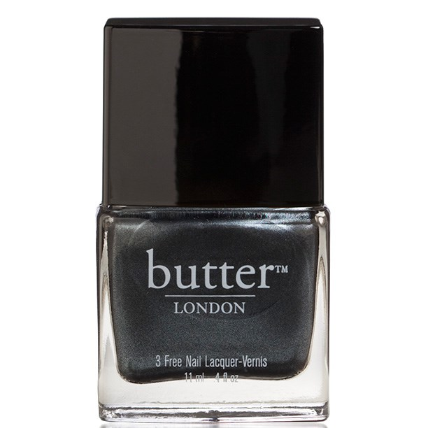 "Nail Lacquer in Chimney Sweep, $22, Butter London, <a href=""http://stylepatisserie.com"">stylepatisserie.com</a>"
