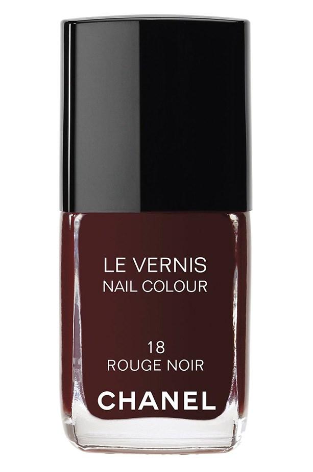 Le Vernis in Rouge Noir, $39, Chanel, (02) 990 2944