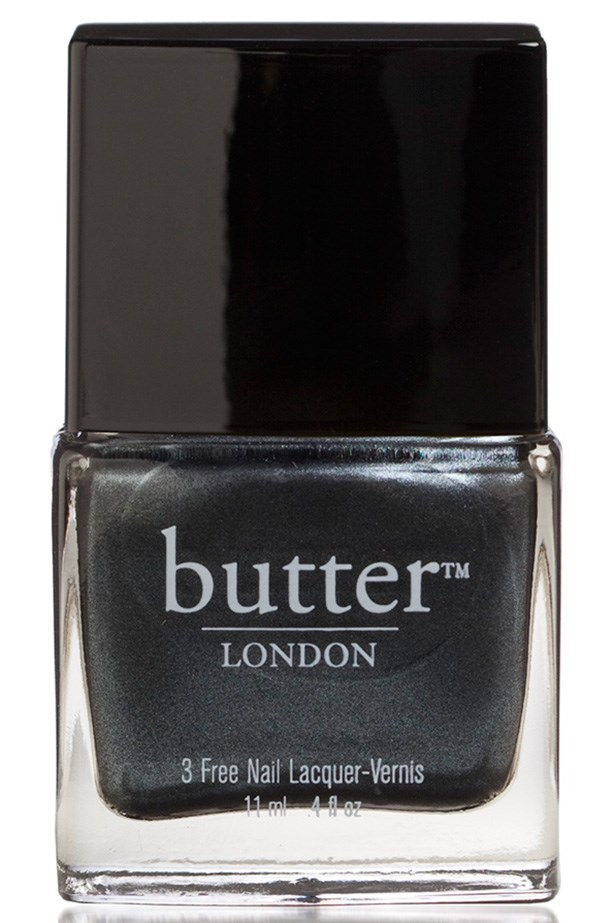 """Nail Lacquer in Chimney Sweep, $22, Butter London, <a href=""""http://www.stylepatisserie.com"""">stylepatisserie.com</a>"""