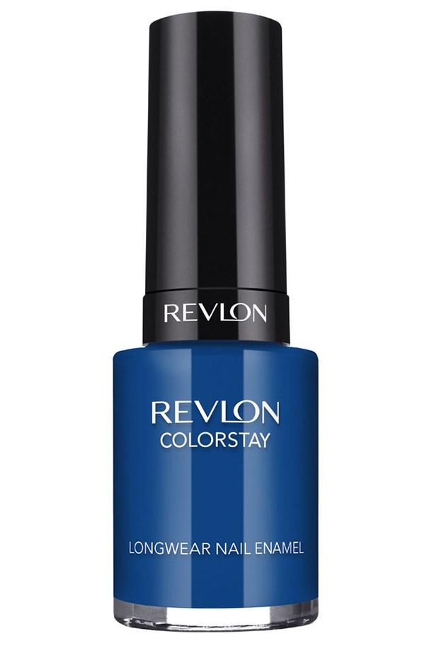 ColorStay Longwear Nail Enamel in Indigo Night, $16.95, Revlon, 1800 025 488