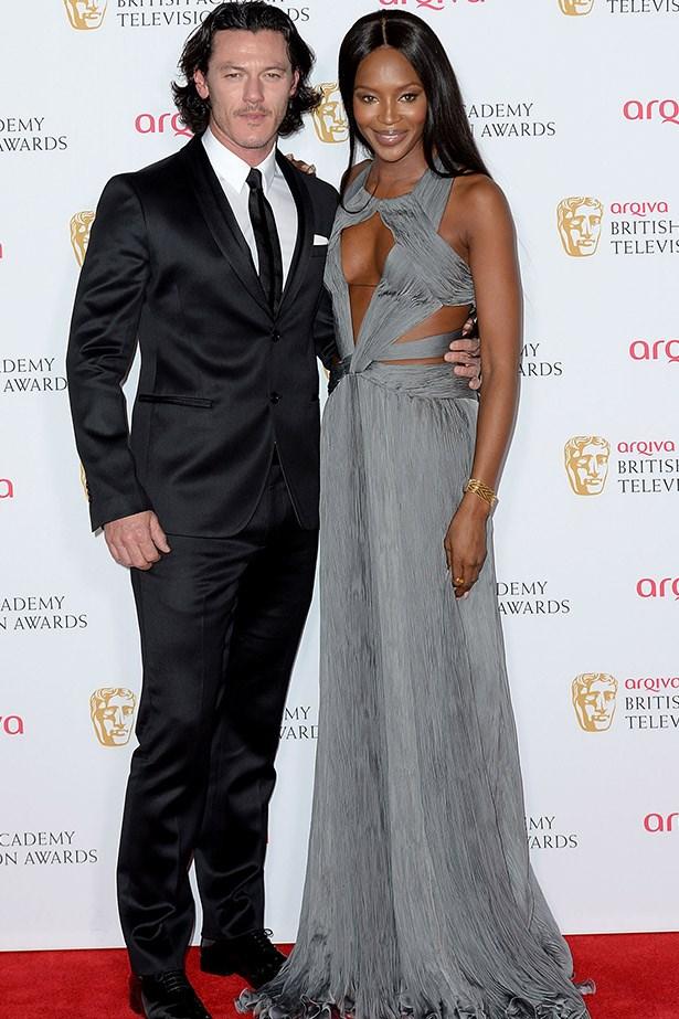 <em>Fast and Furious 6</em> and <em>The Hobbit: The Desolation of Smaug  </em>star Luke Evans presented an award alongside model Naomi Campbell