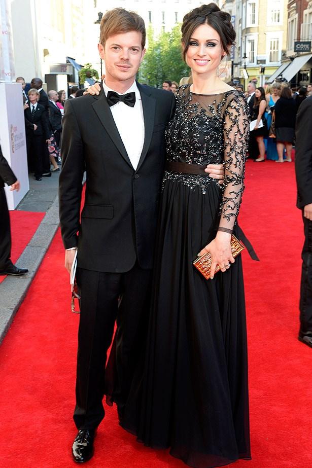 """Brit-pop couple The Feeling's Richard Jones and noughties icon Sophie """"Murder on the Dancefloor"""" Ellis-Bextor."""