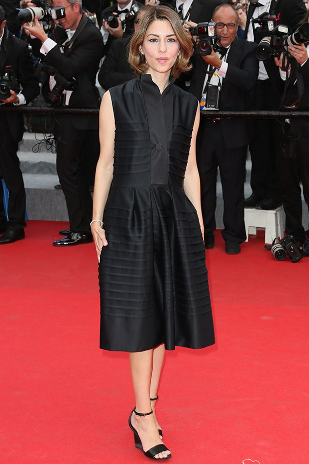 Chic as usual: Sofia Coppola at the <em>Saint Laurent</em> premiere