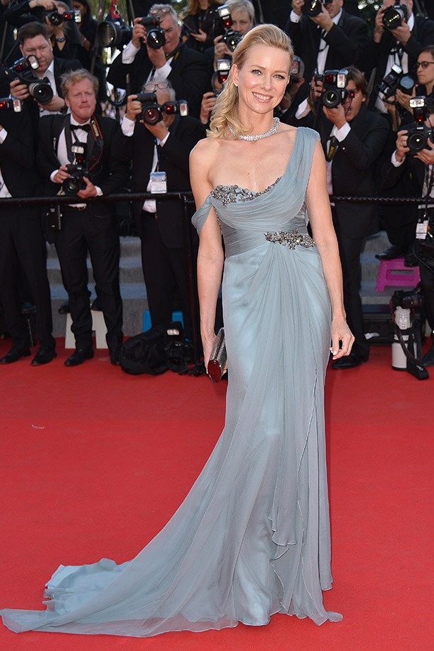 Looking very graceful in Marchesa and Bulgari jewels, Naomi Watts was another favourite on the <em>How to Train Your Dragon 2</em> red carpet