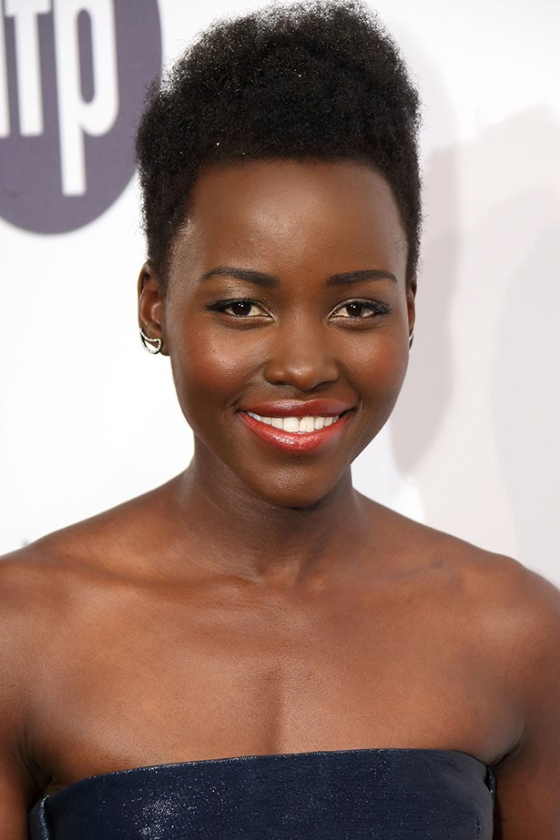 """<strong>Lupita Nyong'o perfect lipstick</strong><br><br> Nick Barose is one of the makeup artists who has worked with Lancome ambassador, Lupita Nyong'o. To get her gorgeous glowing lip, he told <em>Byrdie</em> he often applies a little hint of gold eyeshadow to the centre of the lip using his  finger. He said that this is a particularly excellent tip if you have dark skin and you want to rock a dark shade, such as a shiraz or pinot tone. <br><br> Related Links: <br> <a href=""""http://www.elle.com.au/news/beauty-news/2014/4/lupita-nyongo-named-lanc%C3%B4me-ambassador/"""">Lupita Nyong'o's best beauty moments</a>"""
