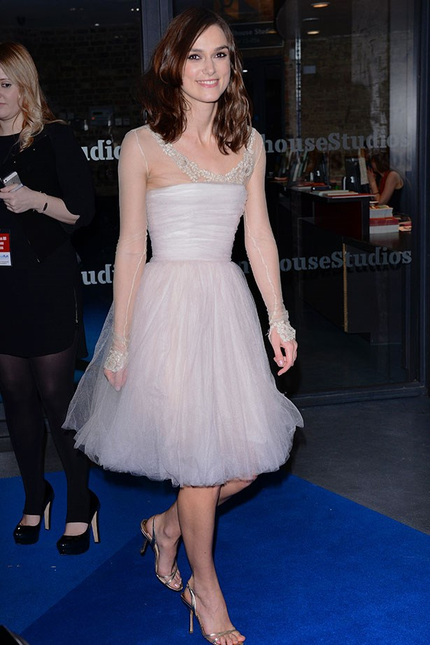 Last May, Keira Knightley wed James Righton in an intimate ceremony in the south of France. Seven months later, the actress infamously repurposed her Chanel couture spring/summer '06 wedding dress for a charity gala and it may have been its last outing. The actress admitted she spilled red wine on her go-to tulle gown.