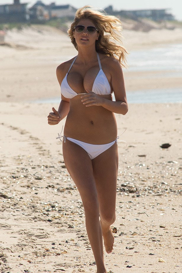 Kate Upton in <em>that scene</em> from <em>The Other Woman.</em>