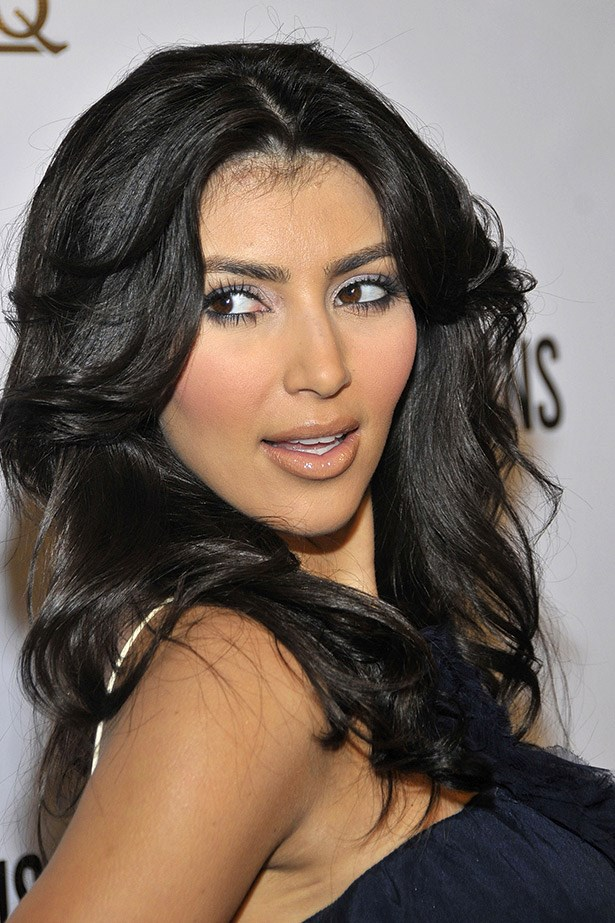 At the season two launch of Keeping Up With The Kardashians in 2008, Kim K rocked a voluminous '70s flick.