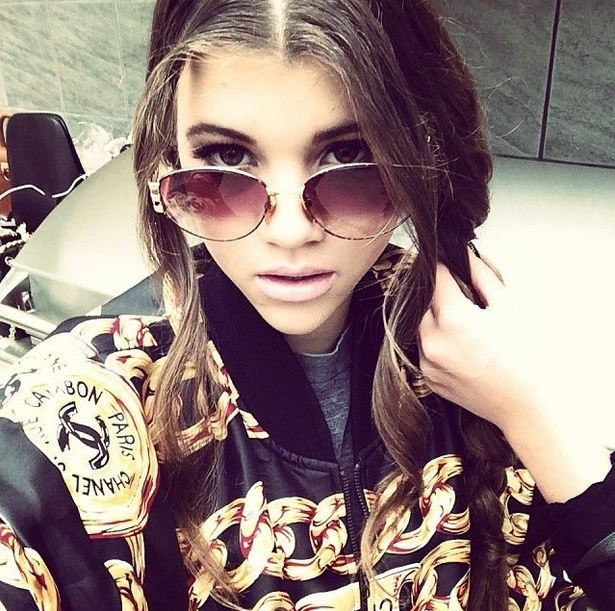 Judging from her instagram and tumblr, Lionel Richie's other baby girl, 15-year-old Sofia Richie had got her sister's fashion chops and her father's charisma (and musical skills, apparently). She's BFFs with Paris Jackson, had offers from Joel Madden (who else?!) to produce her first album and has already been signed to an agency as a teen model. We can be sure to expect big things to come from this lil' Richie.