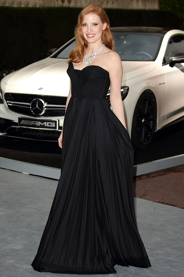 The always elegant, Jessica Chastain in Givenchy Couture.